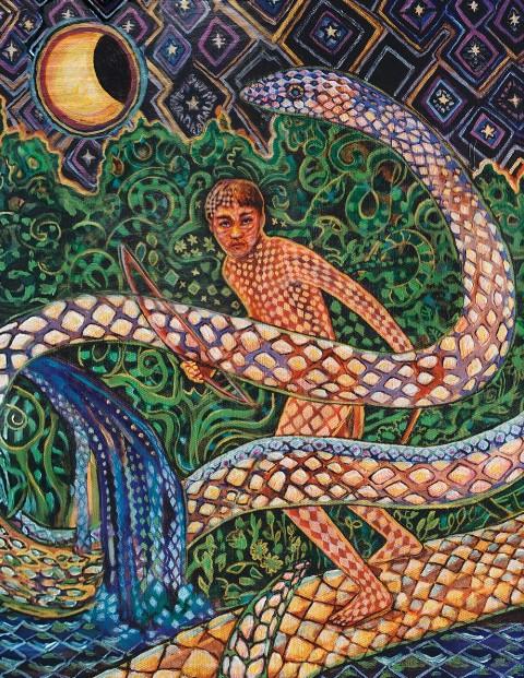 şaman yılanı
